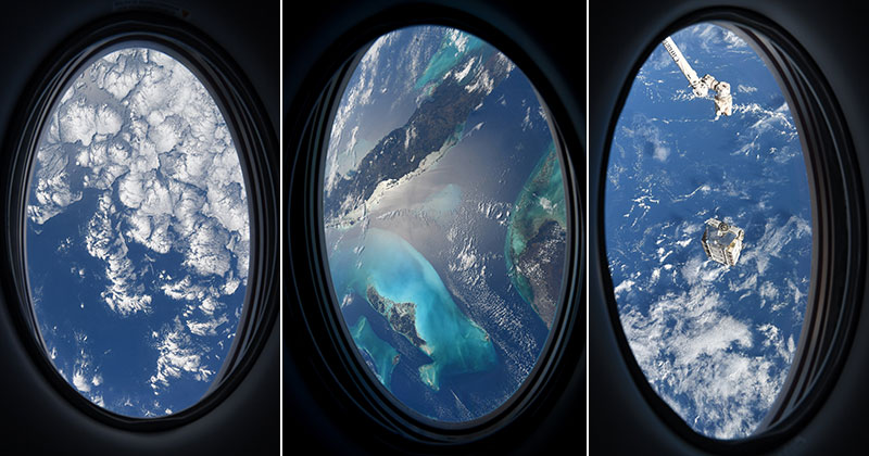 astronaut mike hopkins photos from window of spacex crew dragon resilience 11 Astronaut Mike Hopkins is Sharing Photos from his Window Seat and Theyre Incredible