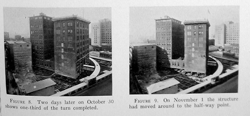 indiana bell building move 1930 3 In 1930 the Indiana Bell Building was Rotated 90° While Everyone Inside Still Worked