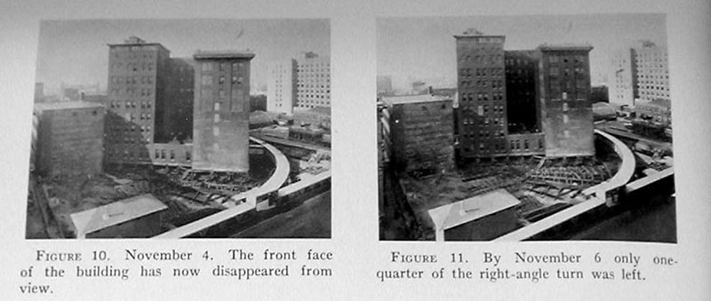 indiana bell building move 1930 4 In 1930 the Indiana Bell Building was Rotated 90° While Everyone Inside Still Worked