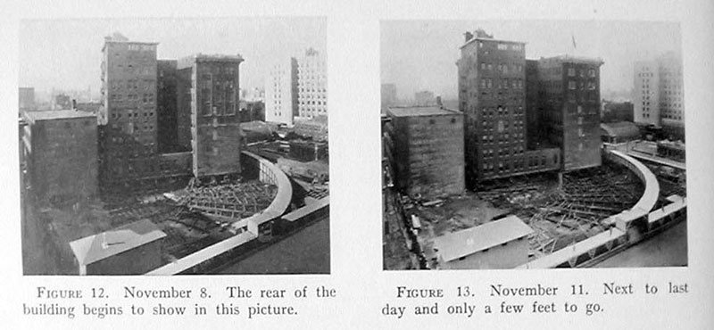 indiana bell building move 1930 5 In 1930 the Indiana Bell Building was Rotated 90° While Everyone Inside Still Worked