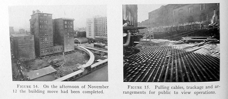 indiana bell building move 1930 6 In 1930 the Indiana Bell Building was Rotated 90° While Everyone Inside Still Worked