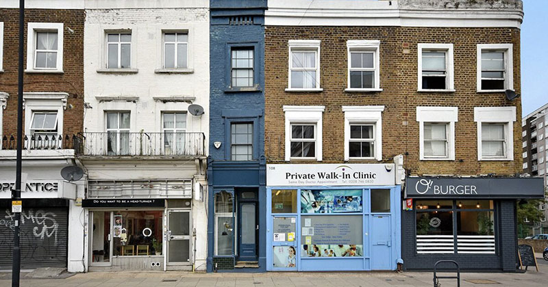 The Skinniest House in London (14 Photos)