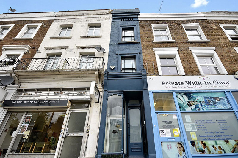 skinniest narrowest house in london 6 The Skinniest House in London (14 Photos)