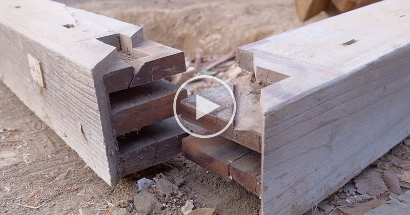 Discovering Traditional Japanese Wood Joineries While Taking Apart a 100 Year Old House