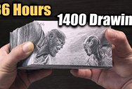 The Skill and Dedication that Went Into this Thanos vs Iron Man Flipbook is Amazing