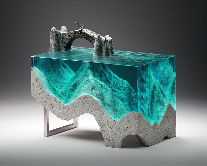 glass wave sculptures by ben young 8 Incredible Glass Wave Sculptures by Ben Young