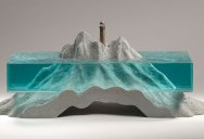 Incredible Glass Wave Sculptures by Ben Young