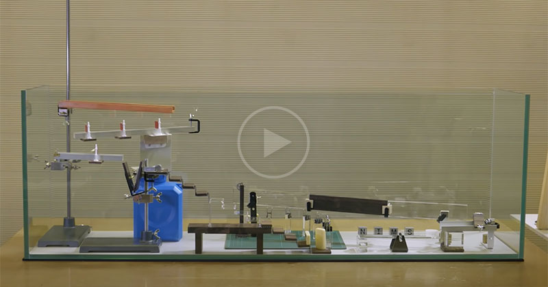 Invisible Rube Goldberg Machine 🤯