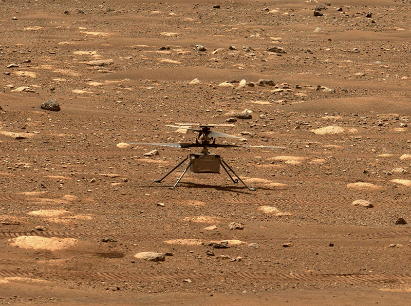 Humans Just Flew the First Ever Aircraft on Another Planet