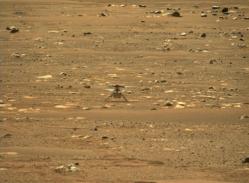 nasa mars helicopter 6 Humans Just Flew the First Ever Aircraft on Another Planet