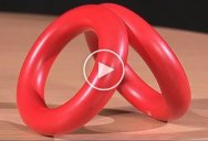 Take a Minute and Enjoy the Elegant Simplicity of this Rolling Rings Illusion