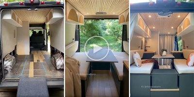 Stop Motion Camper Van Build