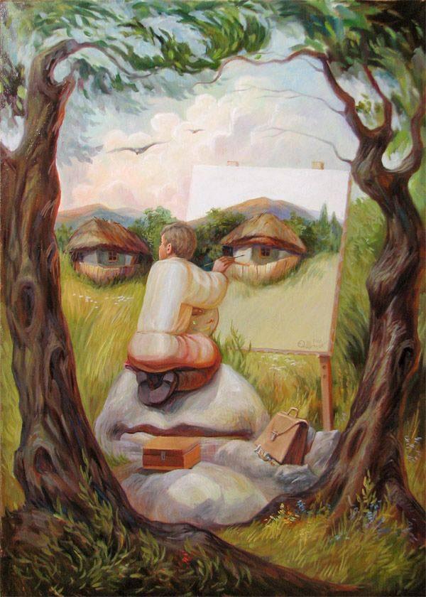 surreal portraits by oleg shuplIak 16 21 Surreal Portraits by Oleg Shupliak