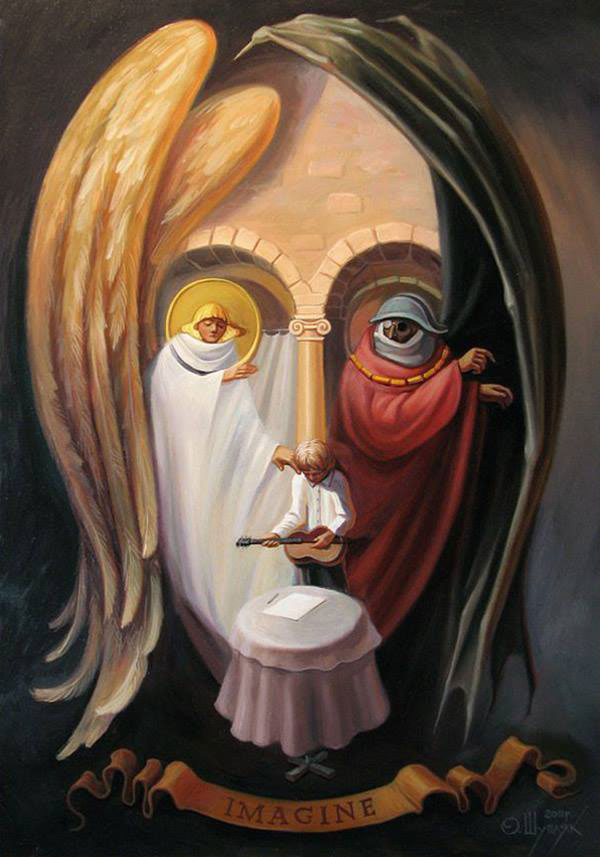surreal portraits by oleg shuplIak 3 21 Surreal Portraits by Oleg Shupliak