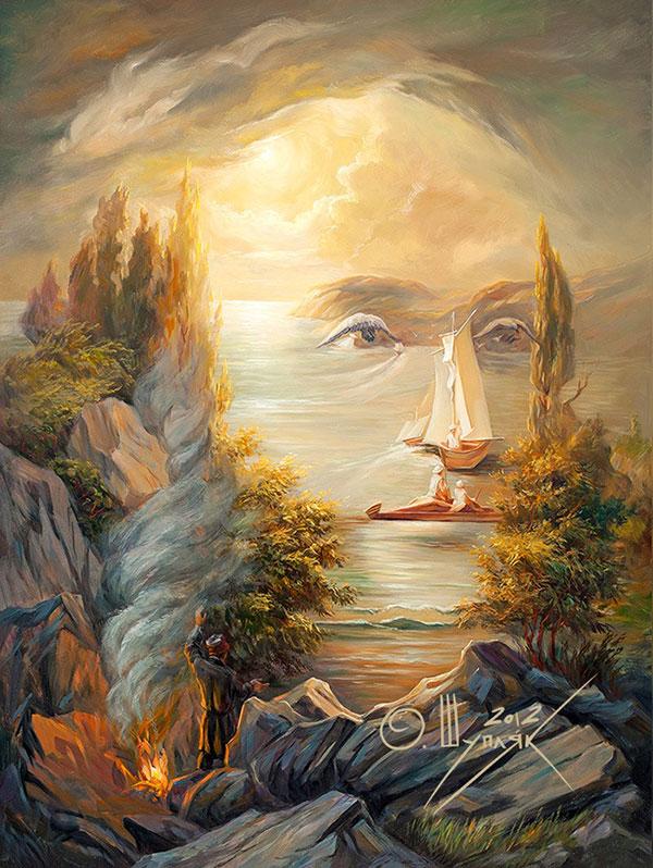 surreal portraits by oleg shuplIak 9 21 Surreal Portraits by Oleg Shupliak