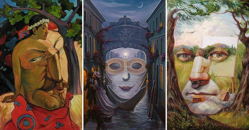 surreal portraits by oleg shuplIak cover 21 Surreal Portraits by Oleg Shupliak