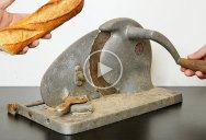 This Vintage Bread Cutter Restoration is Amazing
