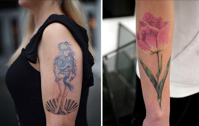 Eva Karabudak tattoo art gallery 16 The Incredible Tattoos of Eva Karabudak
