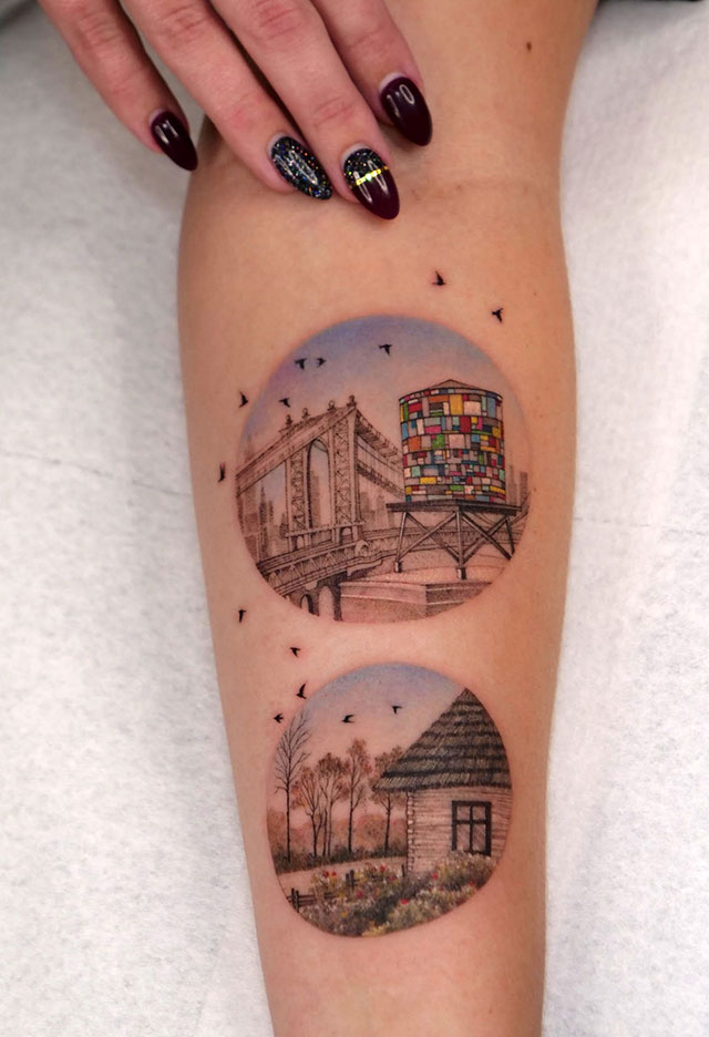 Eva Karabudak tattoo art gallery 19 The Incredible Tattoos of Eva Karabudak