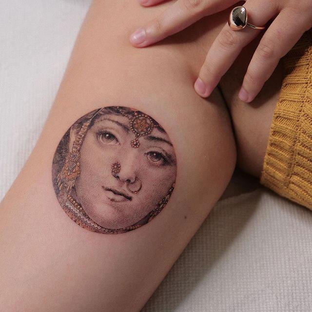 Eva Karabudak tattoo art gallery 2 The Incredible Tattoos of Eva Karabudak