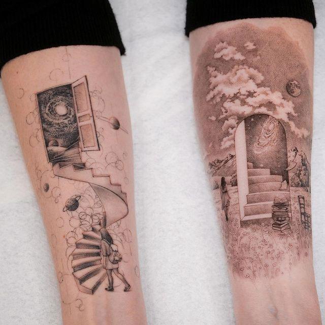 Eva Karabudak tattoo art gallery 5 The Incredible Tattoos of Eva Karabudak