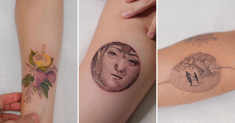 The Incredible Tattoos of Eva Karabudak