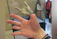 This Guy Went to the Louvre and Found Art that Completes Him