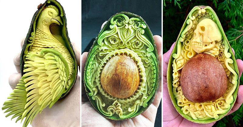 The Most Elaborate Avocados Ever
