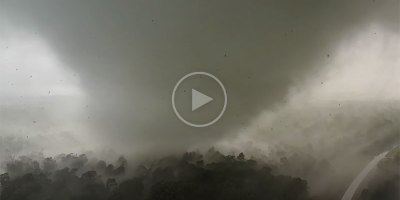 This Guy Lost His Drone Capturing This Incredible Close Range Video of a Tornado