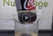 Guy Reveals Thin Plastic Liner Inside Pop Cans