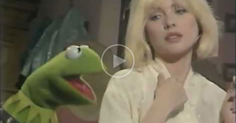 The Only Time Kermit Performed 'Rainbow Connection' on the Muppet Show was This Duet with Blondie