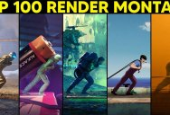 2,400 CG Artists Were Challenged to Render This Base Animation, These Were the Top 100