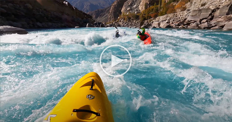 This Kayak Trip Through the Indus River Looks Incredible