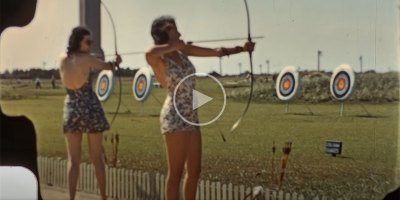 Someone Found a Color 8mm Home Video from 1939 and the Quality is Amazing