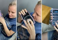 Blind Since Birth, Kristy Viers Shows How She Uses Her Iphone
