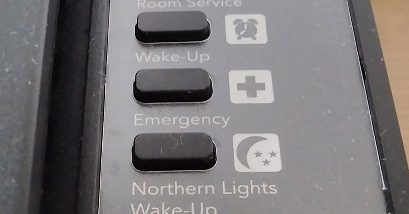 This Hotel in Iceland Has a Complimentary 'Northern Lights Wake-Up Call' Service