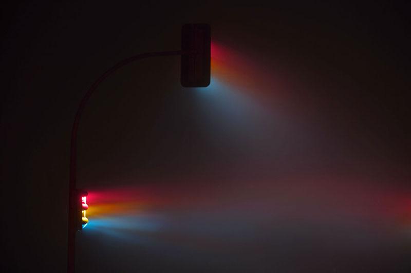 traffic lights at night by lucas zimmermann 2 Long Exposure Traffic Lights at Night by Lucas Zimmermann (7 Photos)