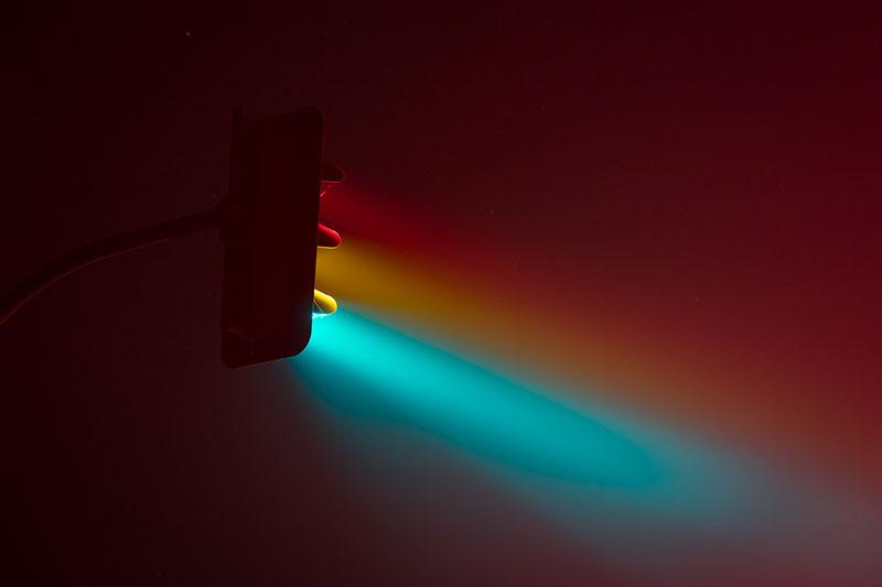traffic lights at night by lucas zimmermann 3 Long Exposure Traffic Lights at Night by Lucas Zimmermann (7 Photos)