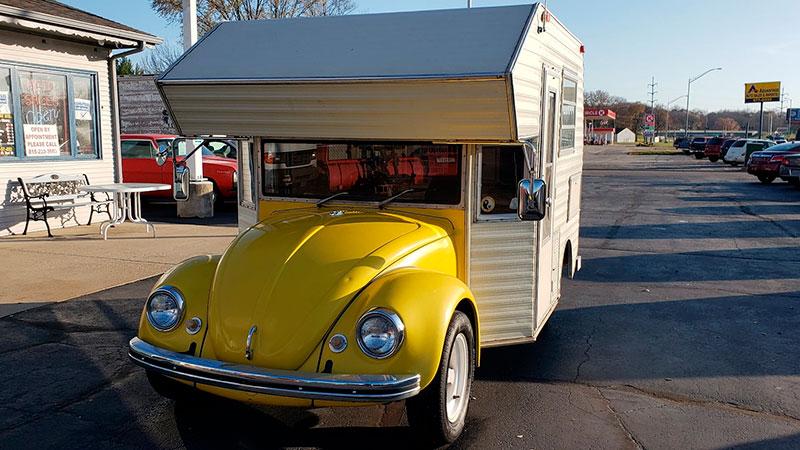 vw camper beetle super bugger 1 This 1969 VW Beetle Camper Super Bugger is Awesome