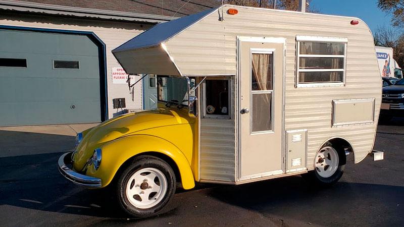 vw camper beetle super bugger 19 This 1969 VW Beetle Camper Super Bugger is Awesome