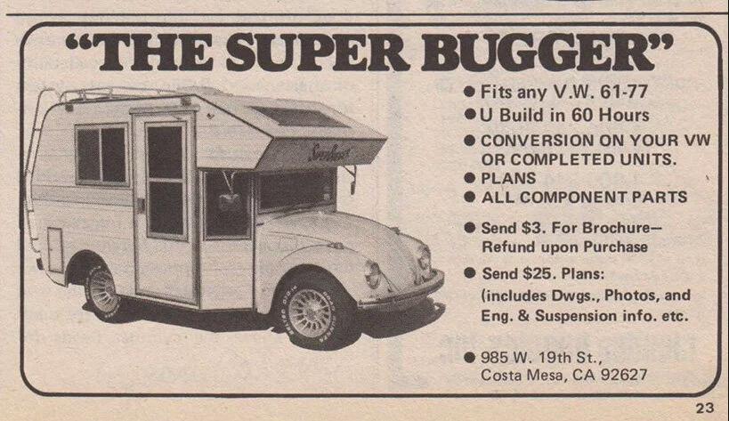 vw camper beetle super bugger 20 This 1969 VW Beetle Camper Super Bugger is Awesome