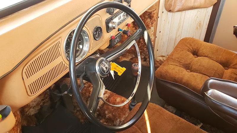 vw camper beetle super bugger 8 This 1969 VW Beetle Camper Super Bugger is Awesome