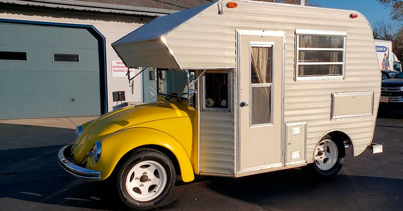 This 1969 VW Beetle Camper 'Super Bugger' is Awesome