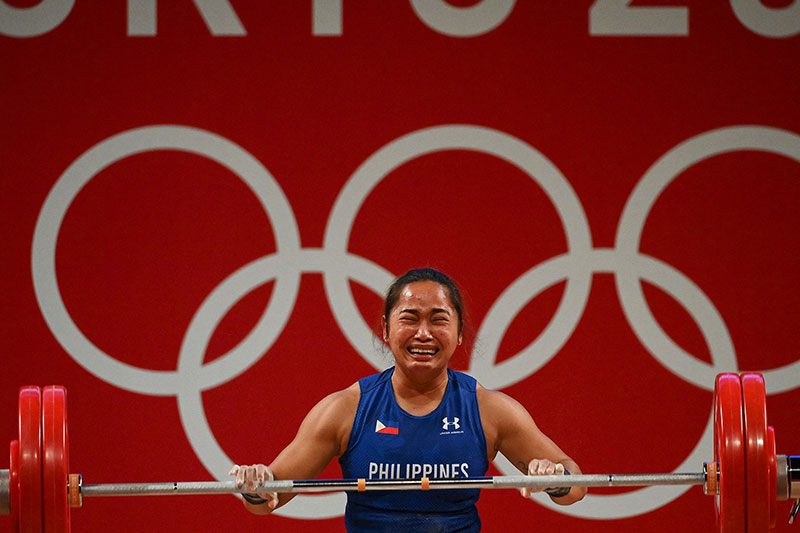 Hidilyn Diaz Ends 100 Year Drought Wins First Ever Gold Medal for the Philippines 5 Hidilyn Diaz Ends 100 Year Drought, Wins First Ever Gold Medal for the Philippines