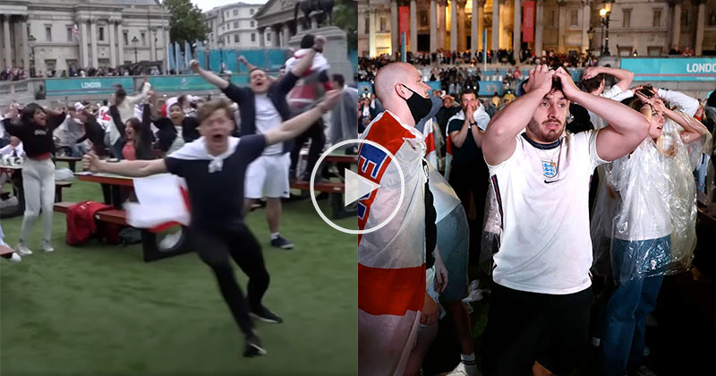How Fans Across England Reacted to the Euro 2020 Final
