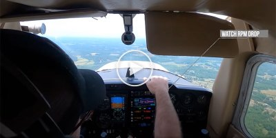 Student Pilot Loses Engine but Stays Calm and Makes Amazing Emergency Landing