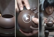 This Artisan Making a Yixing Clay Teapot is So Soothing to Watch