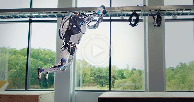 So Boston Dynamics Has Their Robots Doing Parkour.. with Backflips