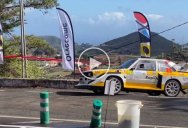 All the Ways Rally Car Drivers Handle This Extremely Tight Turn