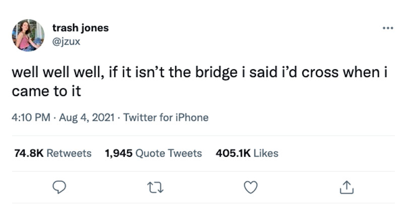 well well well bridge tweet funny The Shirk Report – Volume 642